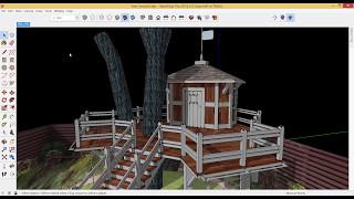 Презентация проекта в SketchUp