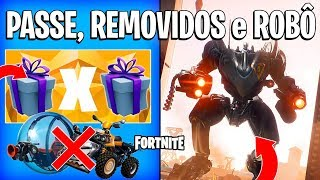 FORTNITE-PASS 10 GIFT, REMOVED ITEMS and NEW B.R.U.T.! -Season 10