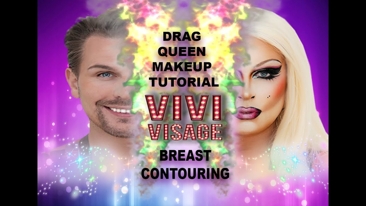 Drag queen makeup tutorial breast contouring youtube baditri Images