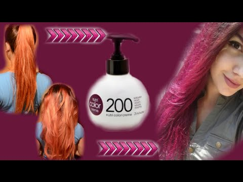 Revlon Nutri Color Creme Recenzija Nijanse 200 Youtube