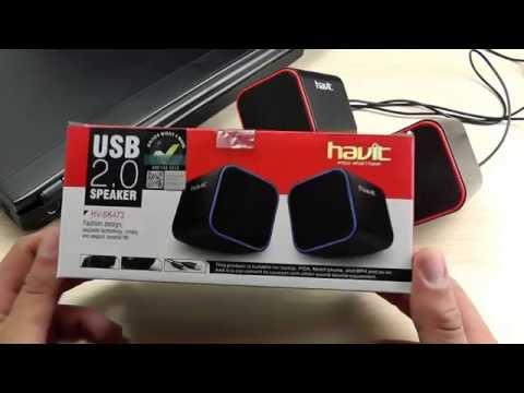 ОБЗОР: Портативная USB Акустика для Ноутбуков и ПК Havit HV-SK473