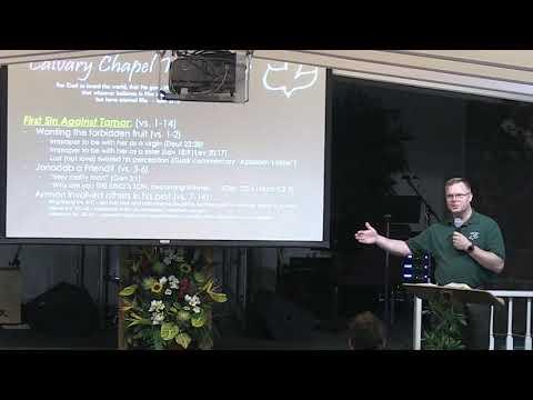 23 January 2019   CCWO's Midweek study in 2 Samuel 13   Pastor Dan Jacobson