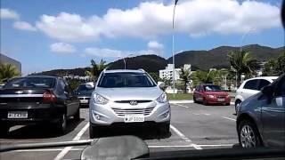 Estacionar em vaga de shopping e supermercado