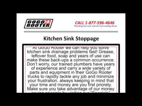 Kitchen Plumbing San Jose – Sewer/Drain Cleaning/Repair Service – Clogged Kitchen Sink | San Jose CA