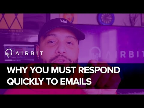 how quickly should i respond to email online dating