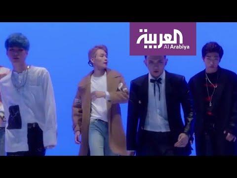 لقاء فرقة Varsity الكورية على العربية