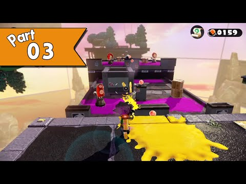 Splatoon walkthrough (w/ commentary) Part 3 - Rise of the Octocopters!