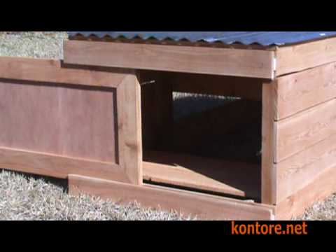 rosedale low profile / stealth chicken coop - youtube