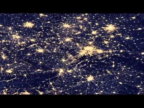 Vídeo Da Terra De Noite - Veja A Terra Do Espaço Durante A Noite