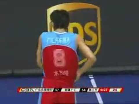 2008-2009 China Basketball Final Guangdong VS Xinjiang