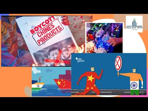 India news19th Oct:Chinese exporters may Rs 40k crore loss Diwali amid boycott call by local sellers
