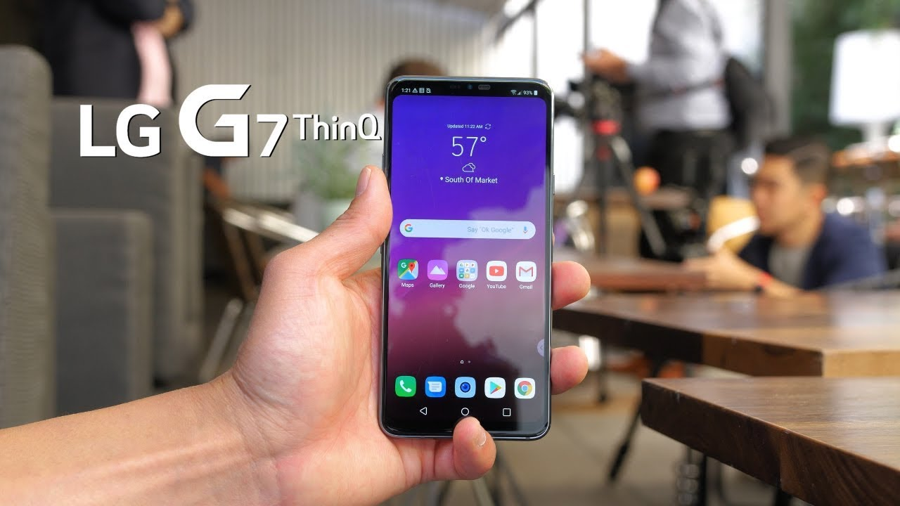 LG G7 ThinQ First Impressions! [Hands-On] | HighOnAndroid com