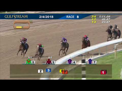 Gulfstream Park Race 8 | February 4, 2018