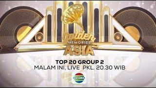 Saksikan Nanti Malam Golden Memories Asia TOP 20 Group 2