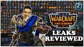 Grubby | Warcraft 3 Reforged | NEW Leaks Revealed and Reviewed!