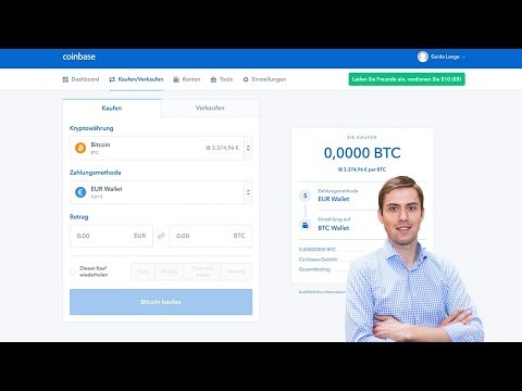 Anleitung Bitcoins Kaufen & Verkaufen Bei Coinbase ✅