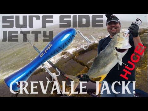 Topwater Surfside Jetty Jack Crevalle