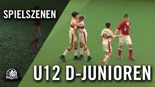 FC Bayern München - VfB Stuttgart (U12 D-Junioren, Gruppe B, AOK-Juniorenmasters 2017) - Spielszenen