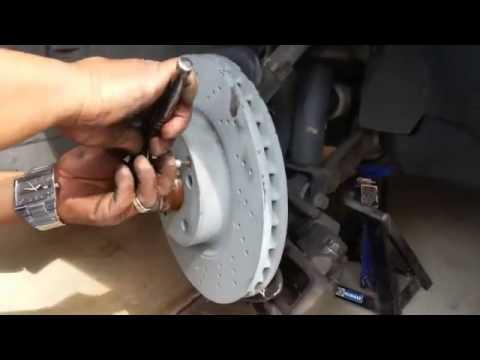 Замена тормозных дисков Mersedes W203