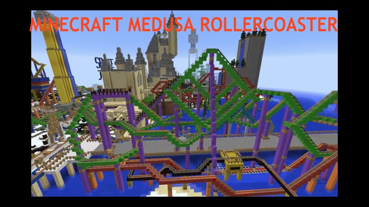Medusa Roller Coaster