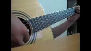Snow flower (yuki no hana) - sorry I love you OST - guitar
