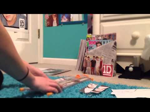 One Direction Bookmarks!