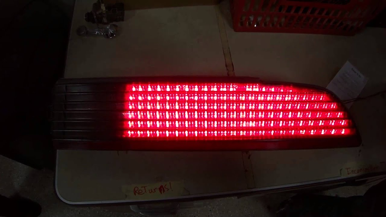 Restore A Muscle Car >> 1979-1981 Trans Am Firebird LED Taillights NEW DESIGN - YouTube