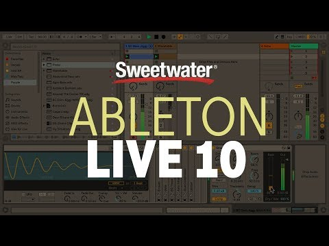 Ableton Live 10 Suite - Upgrade from Live 7-9 Suite