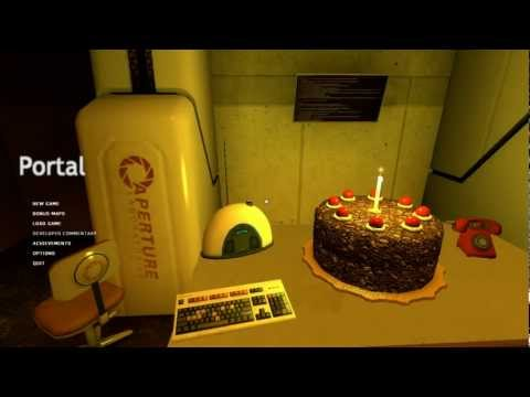 Portal - The Cake Song (Still Alive) (HD)