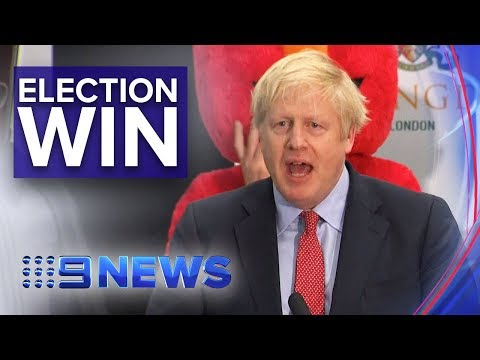 UK's Conservative Party Has Biggest Win Since 1987 | Nine News Australia