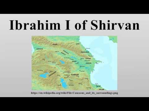 Ibrahim I of Shirvan