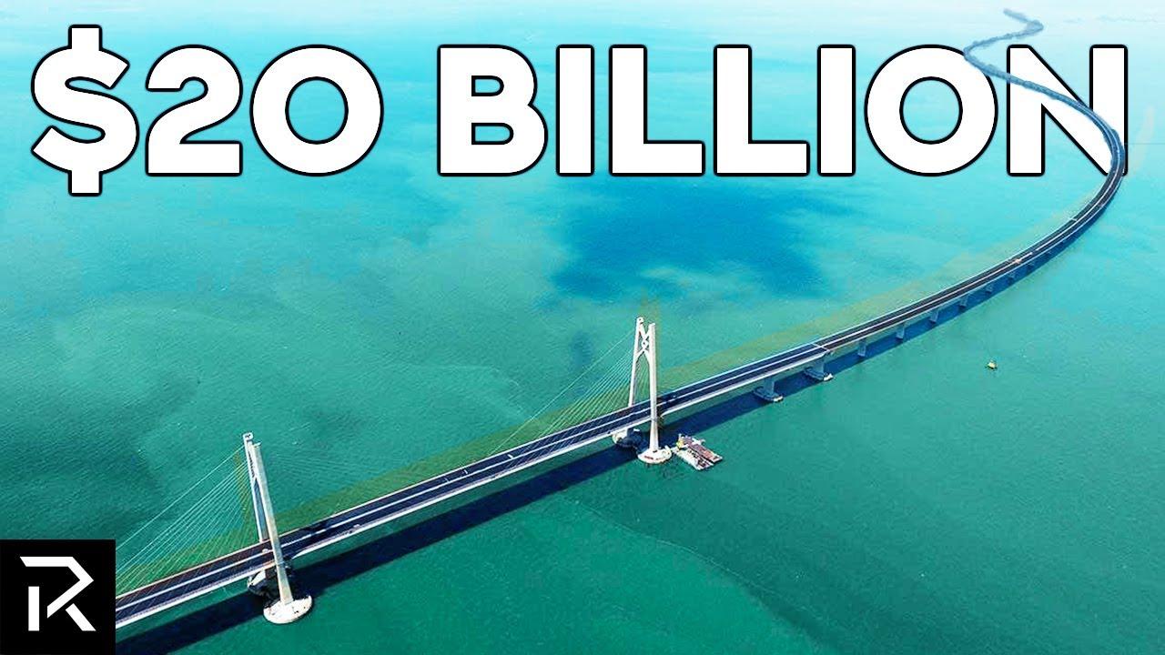 This $20 Billion Chinese Bridge Crosses The Ocean