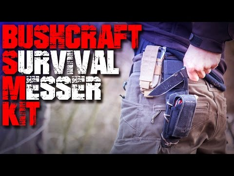 Mein Messer Kit - Outdoor Survival Bushcraft - Outdoormesser Survivalmesser Bushcraftmesser