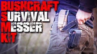 Mein Messer Kit - Outdoor Survival Bushcraft - Outdoormesser Survivalmesser Bushcraftmesser