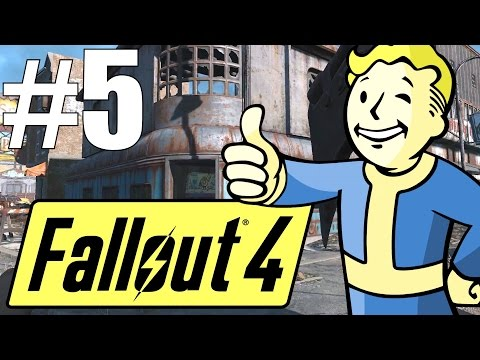 Fallout 4 Lets Play - Part 5 - Adventuring the Wilds! (Survival Mode)