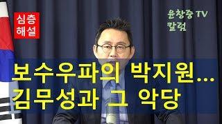 (심층해설) 보수우파의 박지원--김무성과 그 악당(惡黨) 윤창중 TV 칼럼