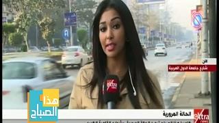 تكدسات مرورية بشارع جامعة الدول واختناقات في الهرم وفيصل