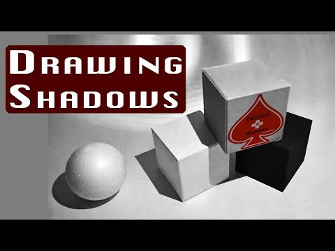 Rendering and Sketching Basics: How to Draw and Calculate Cast Shadows