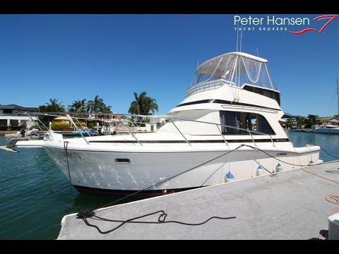 Riviera 3300 for sale at Peter Hansen Yacht Brokers, Raby Bay