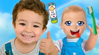 This Is the Way Song | Brush Your Teeth Song Nursery Rhymes and Kids Songs