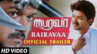 bairavaa official trailer ilayathalapathy vijay keerthy suresh santhosh narayanan bharathan