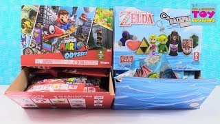 Super Mario Odyssey & Zelda Backpack Buddies Blind Bag Opening | PSToyReviews