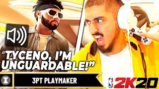 A 3PT PLAYMAKER challenged me for $100, and I ACCEPTED (NBA 2K20)