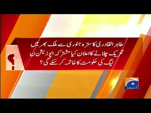 Report Card - 08-January-2018 - Geo News