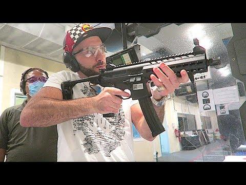 SHOOTING MOST POWERFUL GUNS IN WORLD-AL FORSAN ABU DHABI!!