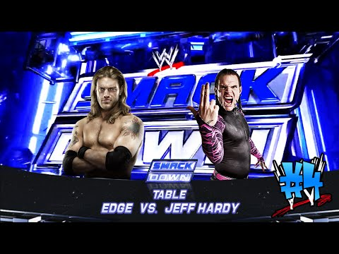 Tables Match - Edge vs Jeff Hardy - Full (WWE 2012)