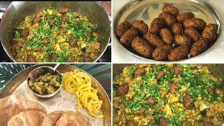 Authentic Gujarati Undhiyu Recipe / Complete Gujarati Thali / Ami