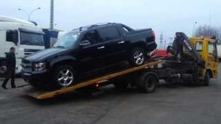 Эвакуация легковых автомобилей - эвакуатор в Минске