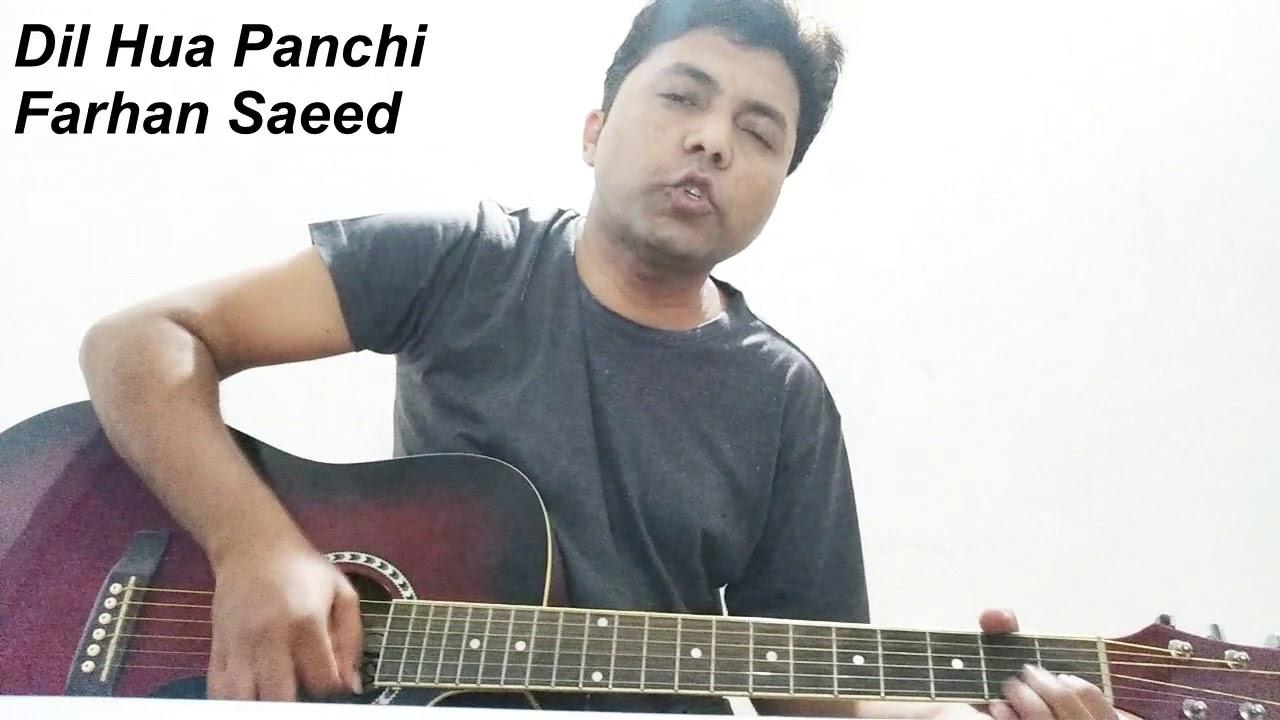 Dil Hua Panchi - Farhan Saeed 2018 | Guitar | Cover | Chords | Strumming