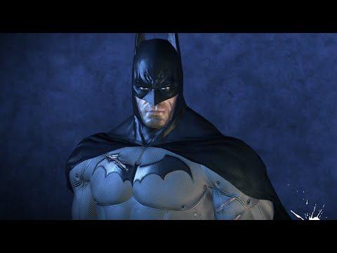 Batman Arkham Asylum 4k Max Settings, Texture Mods HBAO+, PhysX Max.